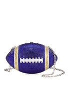 Judith Leiber Couture Team Blue & Gold Game