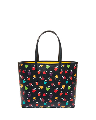 Veronica Rainbow Stace Face Tote Bag