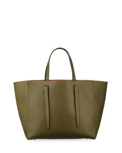 Medium Soft Leather Tote Bag