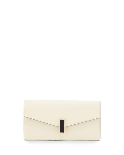 Iside Leather Clutch Bag