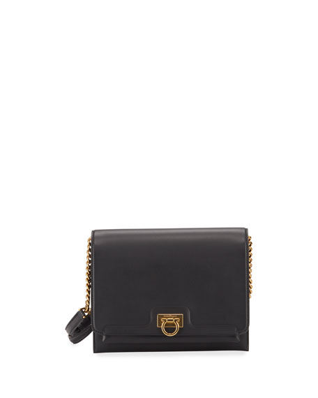 Salvatore Ferragamo Gancio Square Crossbody Bag