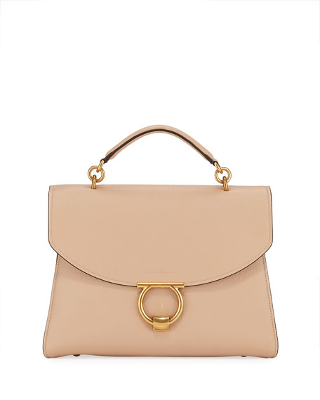 Salvatore Ferragamo Margot Gancio Vela Soft Bag