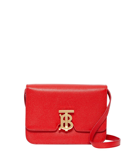 Burberry Small TB Leather Crossbody Bag