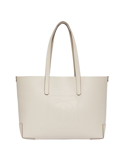 Embossed Medium Tote Bag