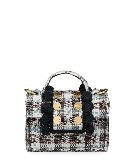 Kooreloo Petite Lollipops LOL Tweed Shoulder Bag