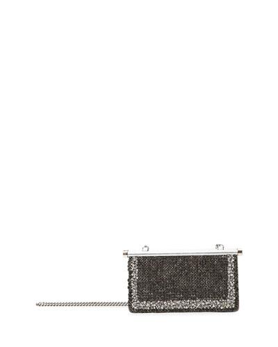 Carry Secrets Small Jeweled Clutch Bag