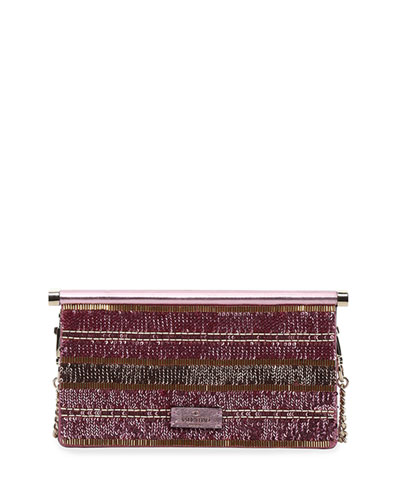 Carry Secrets Small Sequined Clutch Bag