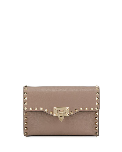 Rockstud Vitello Small Shoulder Bag