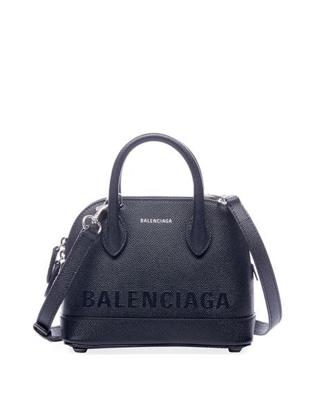 Balenciaga Ville AJ XXS Logo Printed Top-Handle Bag