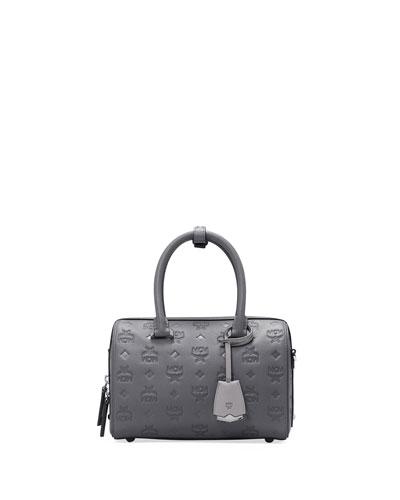 Boston 23 Essential Monogrammed Leather Bag