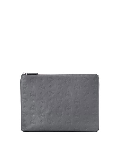 Klara Small Monogrammed Leather Crossbody Bag
