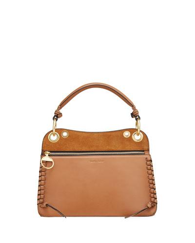 Tilda Small Leather/Suede Handbag
