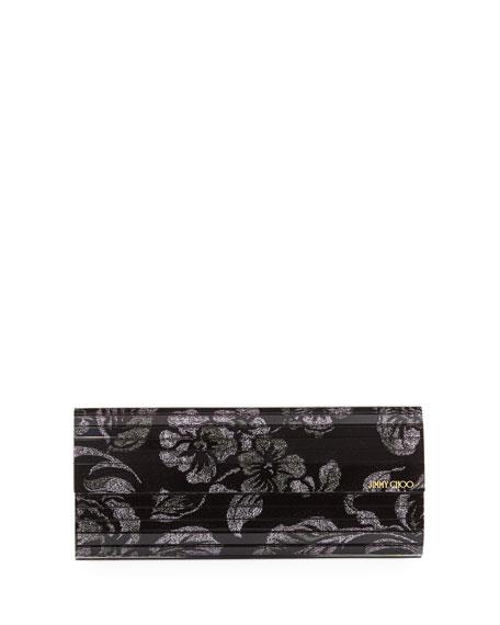 Jimmy Choo Sweetie Floral Brocade Clutch Bag