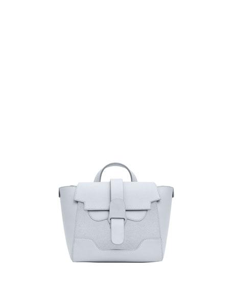 Senreve Maestra Mini Suede Convertible Backpack Bag