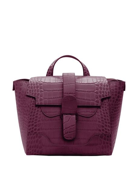 Senreve Mini Maestra Mock-Croc Convertible Backpack Satchel Bag