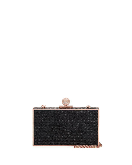 Sophia Webster Clara Crystal Box Clutch Bag