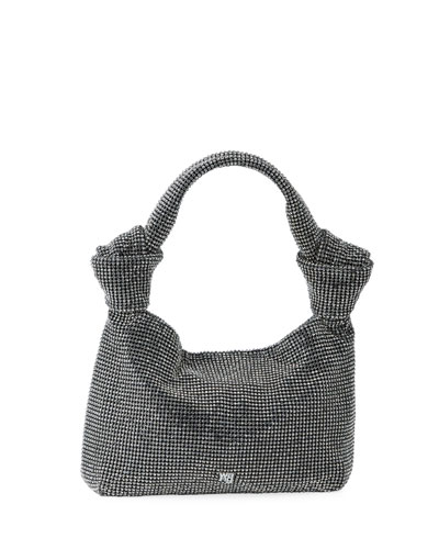 Wanglock Shimmery Knot Pouch Tote Bag