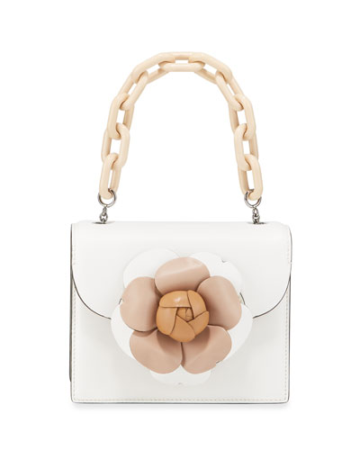 Tro Mini Napa Leather Crossbody Bag