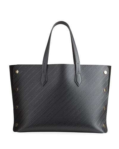 Cabas Studded Medium Shopping Tote Bag