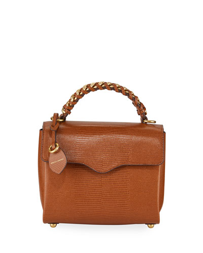 Chain Satchel Bag - Brass Hardware