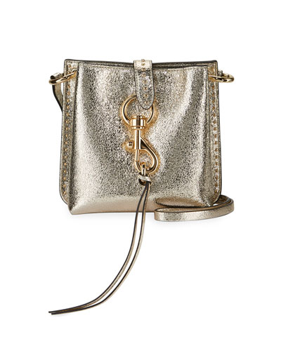 Megan Metallic Mini Feed Bag