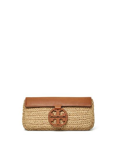 Miller Straw Clutch Bag