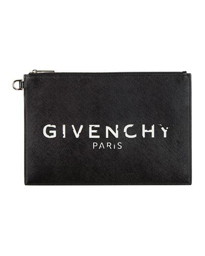 Iconic Prints Flat Medium Pouch Clutch Bag