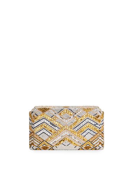 Judith Leiber Couture Swanson Gaia Clutch Bag