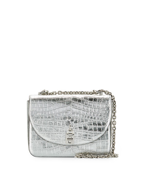 Rebecca Minkoff Love Too Mock-Croc Shoulder Bag