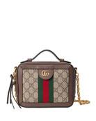 Gucci Ophidia Mini GG Supreme Top-Handle Shoulder Bag