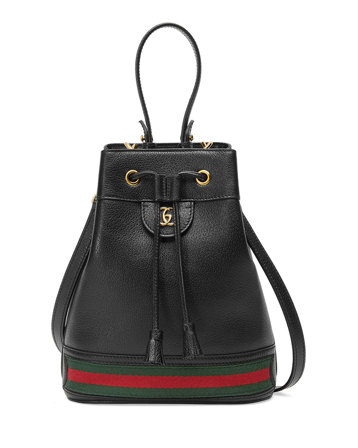 Gucci Bags OPHIDIA SMALL DRAWSTRING BUCKET BAG