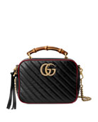 Gucci GG Marmont Torchon Leather Shoulder Bag with