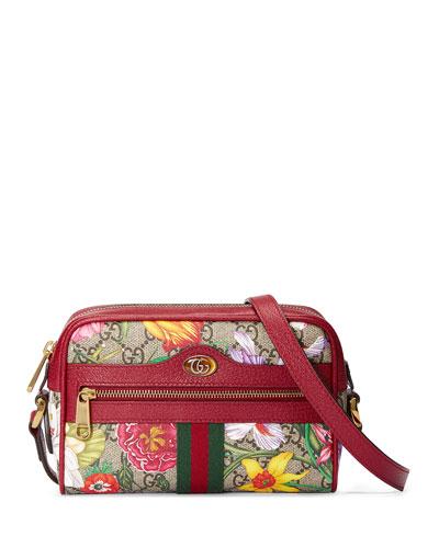 Ophidia Mini GG Flora Crossbody Bag