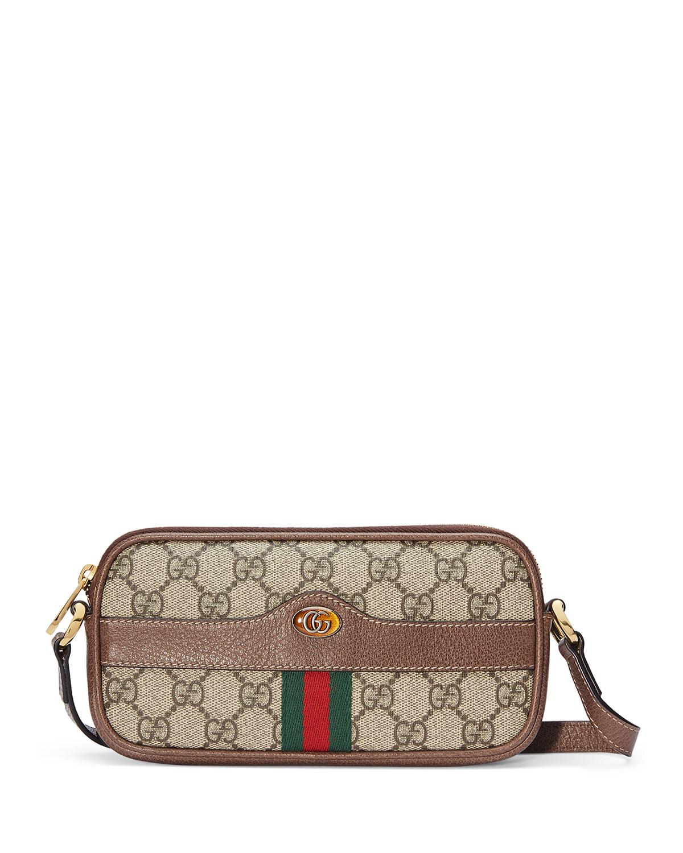 Gucci Crossbody OPHIDIA EAST-WEST GG SUPREME CROSSBODY BAG