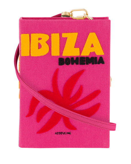 Olympia Le-Tan Ibiza Strapped Book Clutch Bag