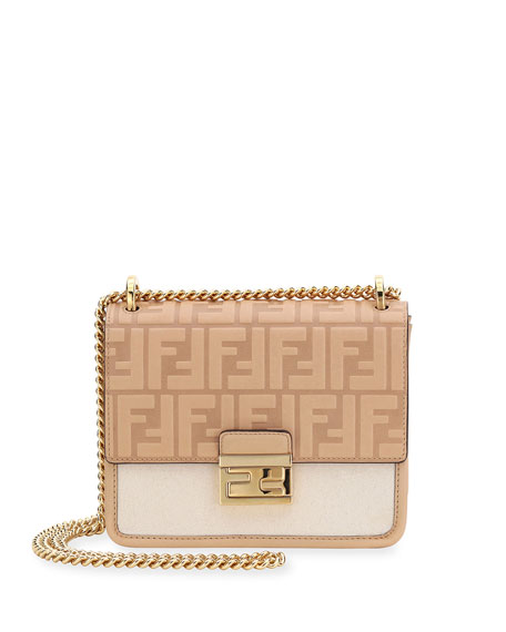 Fendi Kan U Small FF 1974 Crossbody Bag
