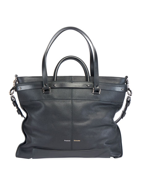 Proenza Schouler PS19 Large Grainy Crossbody Bag
