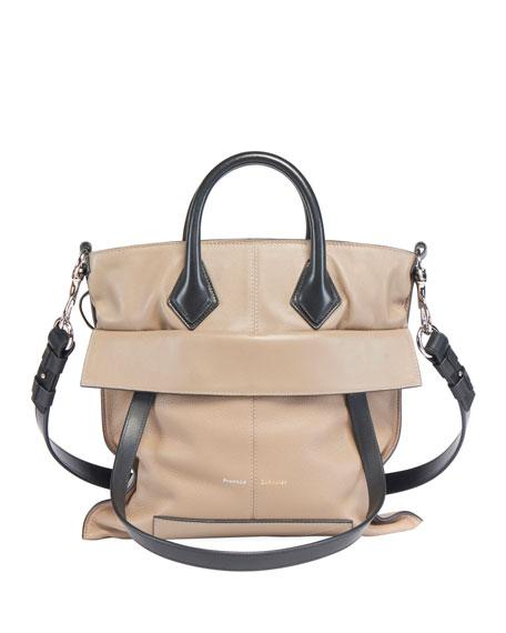 Proenza Schouler PS19 Small Grainy Crossbody Tote Bag