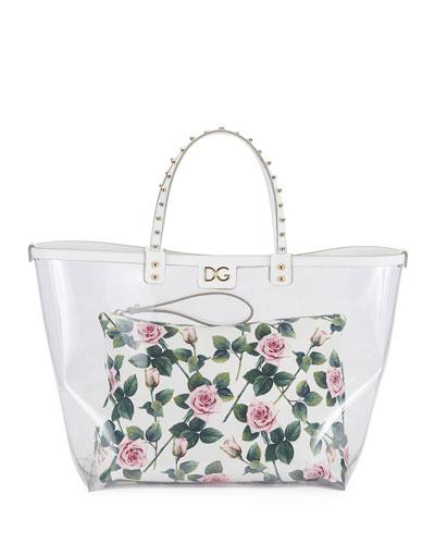St. Dauphine PVC Shopping Tote Bag