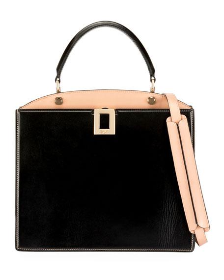 Roger Vivier So Vivier Medium Leather Shoulder Bag