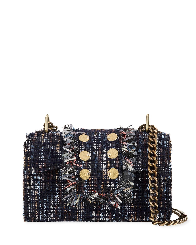 Kooreloo New Yorker Soho Shoulder Bag In Blue Pattern