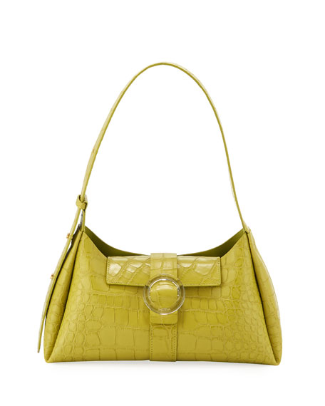 IMAGO-A Exclusive Croco Shoulder Bag