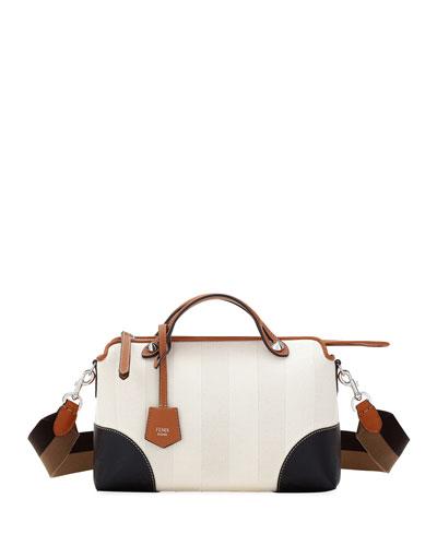 By The Way Medium Colorblock Pequin Satchel Bag