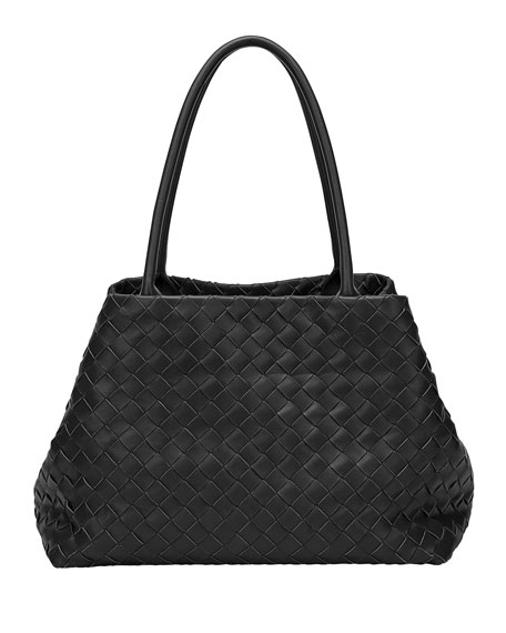 Bottega Veneta Medium Woven Top Handle Bag