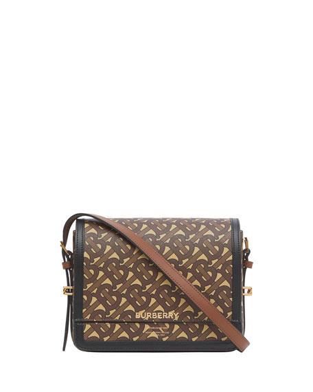Burberry Small Grace TB Monogram Crossbody Bag