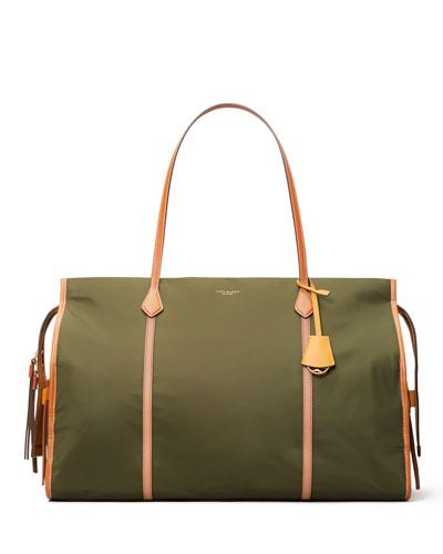 Perry Oversize Colorblock Nylon Tote Bag