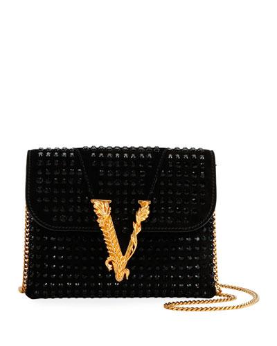 Virtus Crystal Evening Shoulder Bag