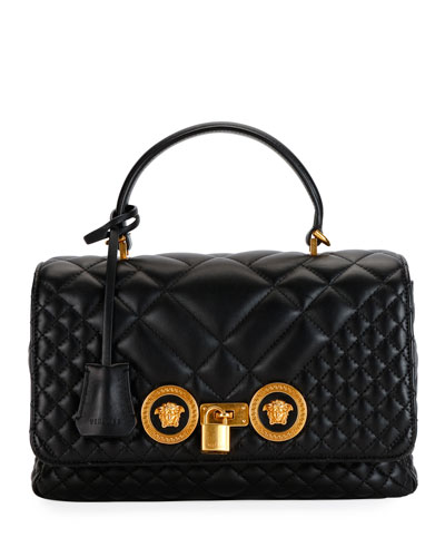 Quilted Icon Dual Carry Shoulder Bag