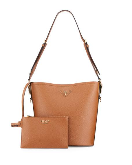 Prada Saffiano Bucket Bag