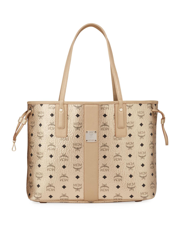 Medium Visetos Shopper Tote Bag